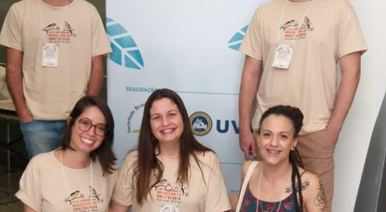 Alunos e Docentes do PPG-CiAC participam do Congresso Brasileiro de Ornitologia